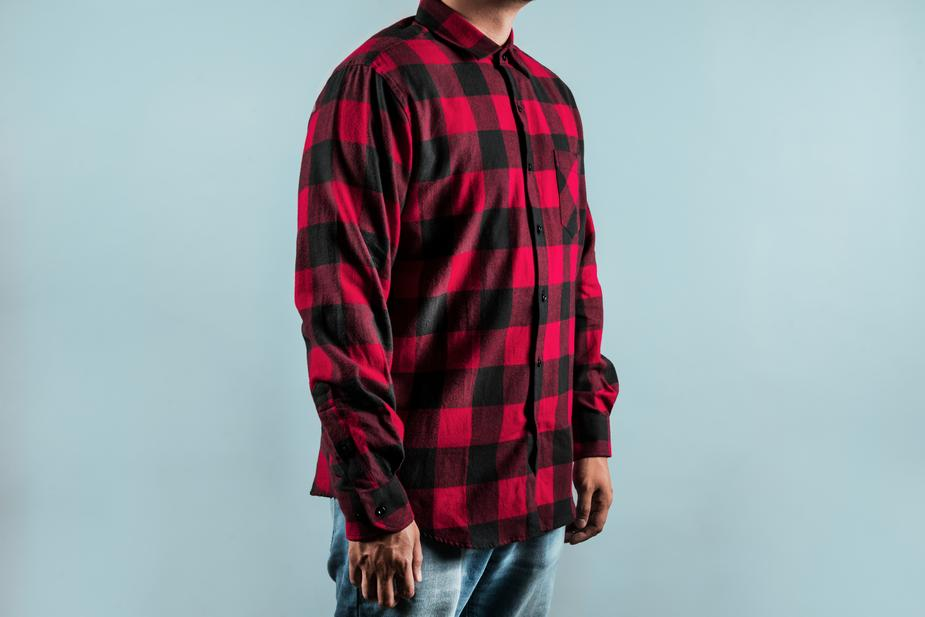 Chequered Red Shirt