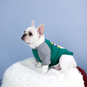 Cotton Coat for French Bulldog - Frenchie N Pug