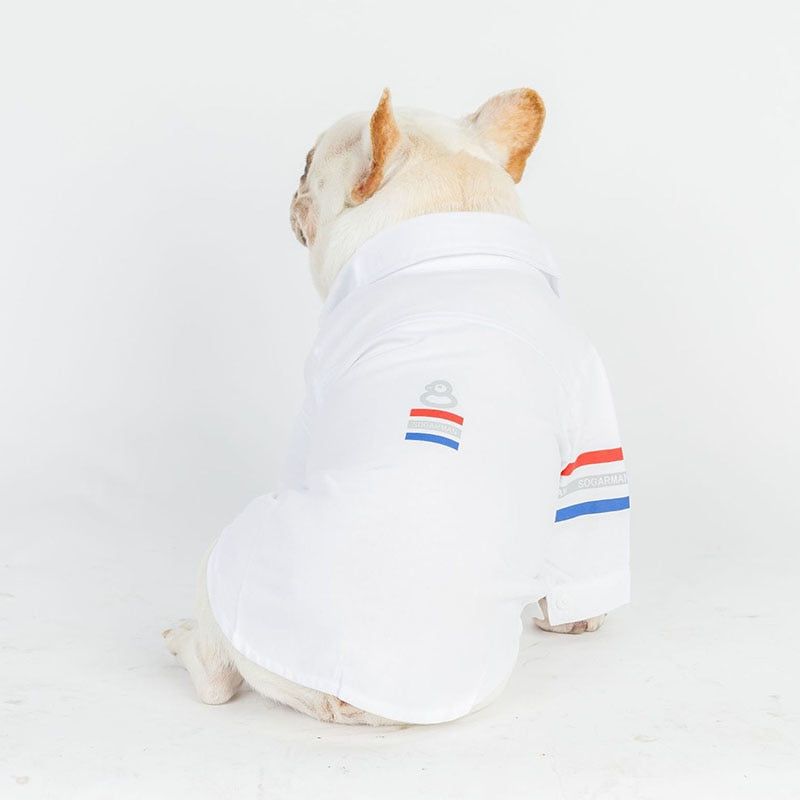 Summer Shirt for French Bulldog & Pugs - Frenchie N Pug