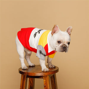 Fashion Spring Soft Breathable Polo Shirt - Frenchie N Pug