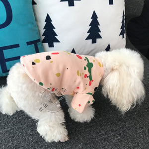 Colorful Printing Pet Cotton Clothes for small and medium sized dogs - Frenchie N Pug