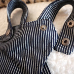 Jeans Striped Cool Jumpsuit - Frenchie N Pug
