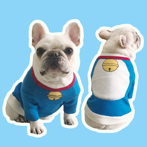 Cute Doraemon T-shirt - Frenchie N Pug