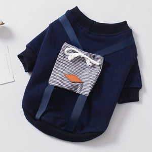 Back Pocket Picnic Sweater - Frenchie N Pug