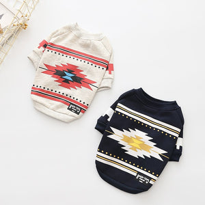 Ethnic Style Warm Cotton Sweater - Frenchie N Pug