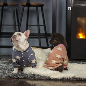 Winter Warm Star Pattern Sweater - Frenchie N Pug