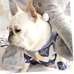 Camel white T Shirts for small dogs - Frenchie N Pug