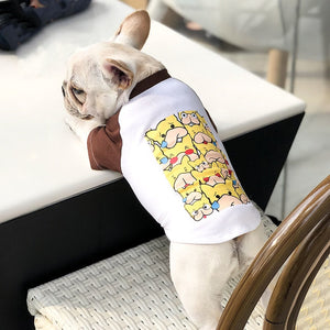 French Bulldog Sweatershirt Summer - Frenchie N Pug