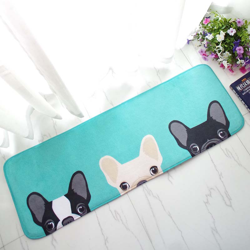 Minimalist French Bulldog Tatami Floor Mat - Frenchie N Pug