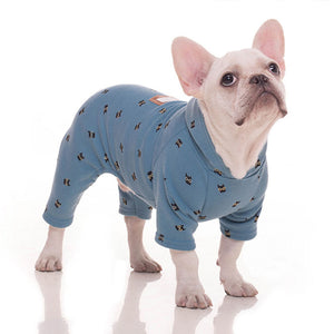 Dog Clothes for Small Dogs Autumn Winter Warm Jumpsuit - Frenchie N Pug