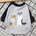 Cartoon Printing Clothing Spring Summer - Frenchie N Pug