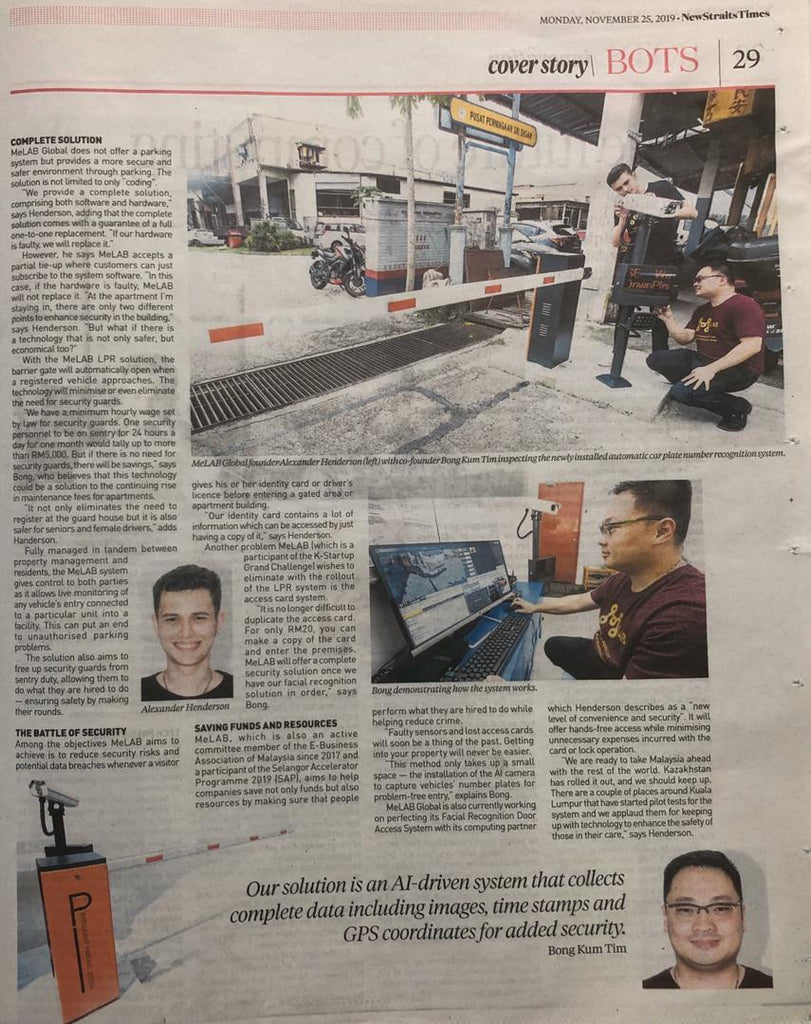 Melab Global feature in NST page 2