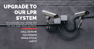 Upgrade Your Existing Old RFID Barrier Gate to Our Latest LPR System Now !
