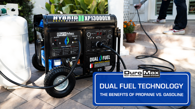 DUAL FUEL TECHNOLOGY: The Benefits of Propane vs. Gasoline