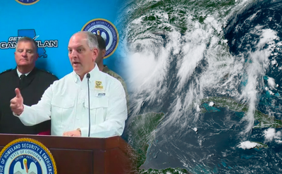 Storm Watch: Louisiana Gov. John Edwards Declares Ahead of Tropical Storm Berry