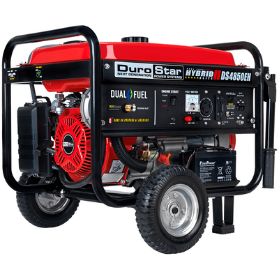 DuroStar DS4850EH 4,850-Watt 210cc Dual Fuel Hybrid Generator w/ Electric Start