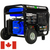 DuroMax XP10000EHC 10,000-Watt Electric Start Dual Fuel Hybrid Portable Generator for Canada