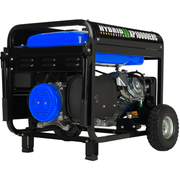 10,000-Watt Electric Start Dual Fuel Hybrid Portable Generator for Canada
