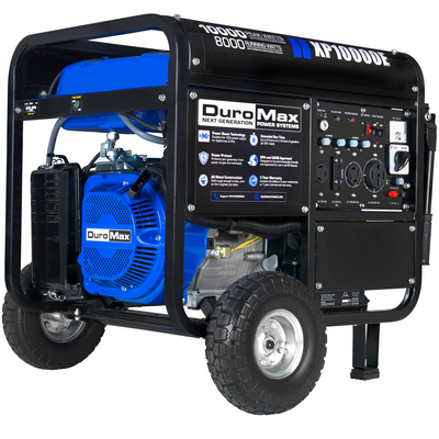 DuroMax XP10000E 10000-Watt 439cc Portable Gas Electric Start Generator RV Home Standby