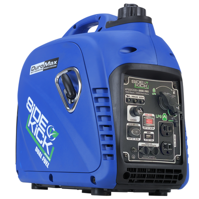 DuroMax XP2200EH 2200-Watt 79cc Dual Fuel Digital Inverter Hybrid Portable Generator