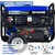 DuroMax XP4400E 4,400-Watt 7 HP RV Grade Gas Generator w/ Electric Start and Wheel Kit