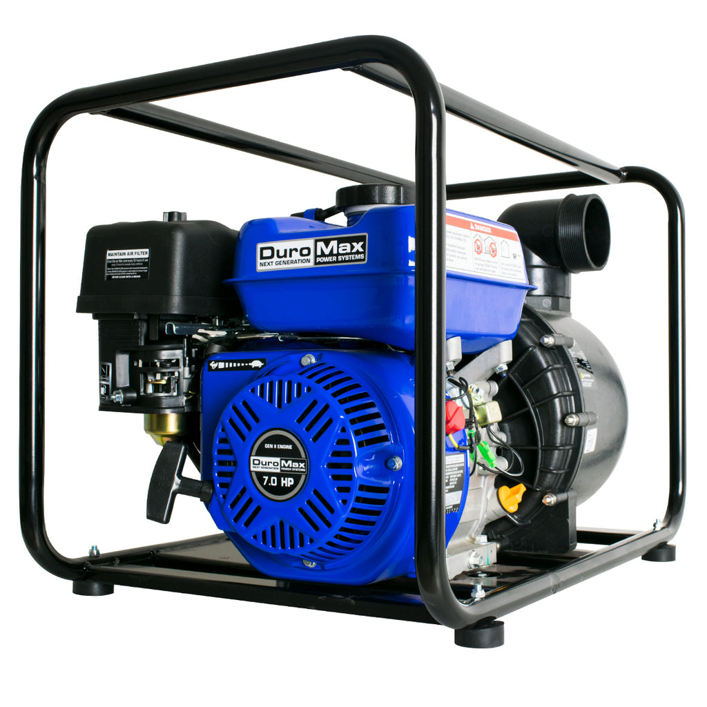 DuroMax XP703CP 212cc 7-Hp 255-Gpm 3-Inch Gas Powered Chemical Pump