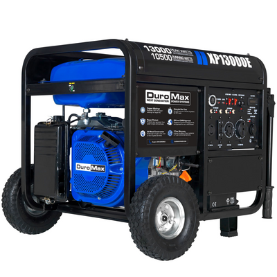 DuroMax XP13000E 13,000-Watt 500cc Portable Gas Electric Start Generator