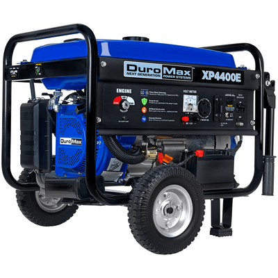 DuroMax XP4400E 4,400-Watt 210cc RV Grade Gas Generator w/ Electric Start and Wheel Kit