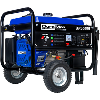 DuroMax XP5500E 5,500-Watt 224cc 36.6-Amp Portable Electric Start Gas Powered Generator