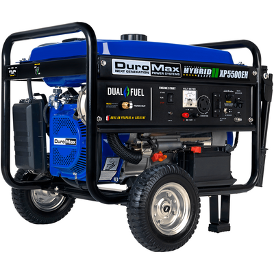 DuroMax XP5500EH 5000-Watt 224cc Electric Start Dual Fuel Hybrid Portable Generator