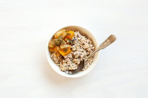 Raw Soaked Oats ~ Seasonal Flavours