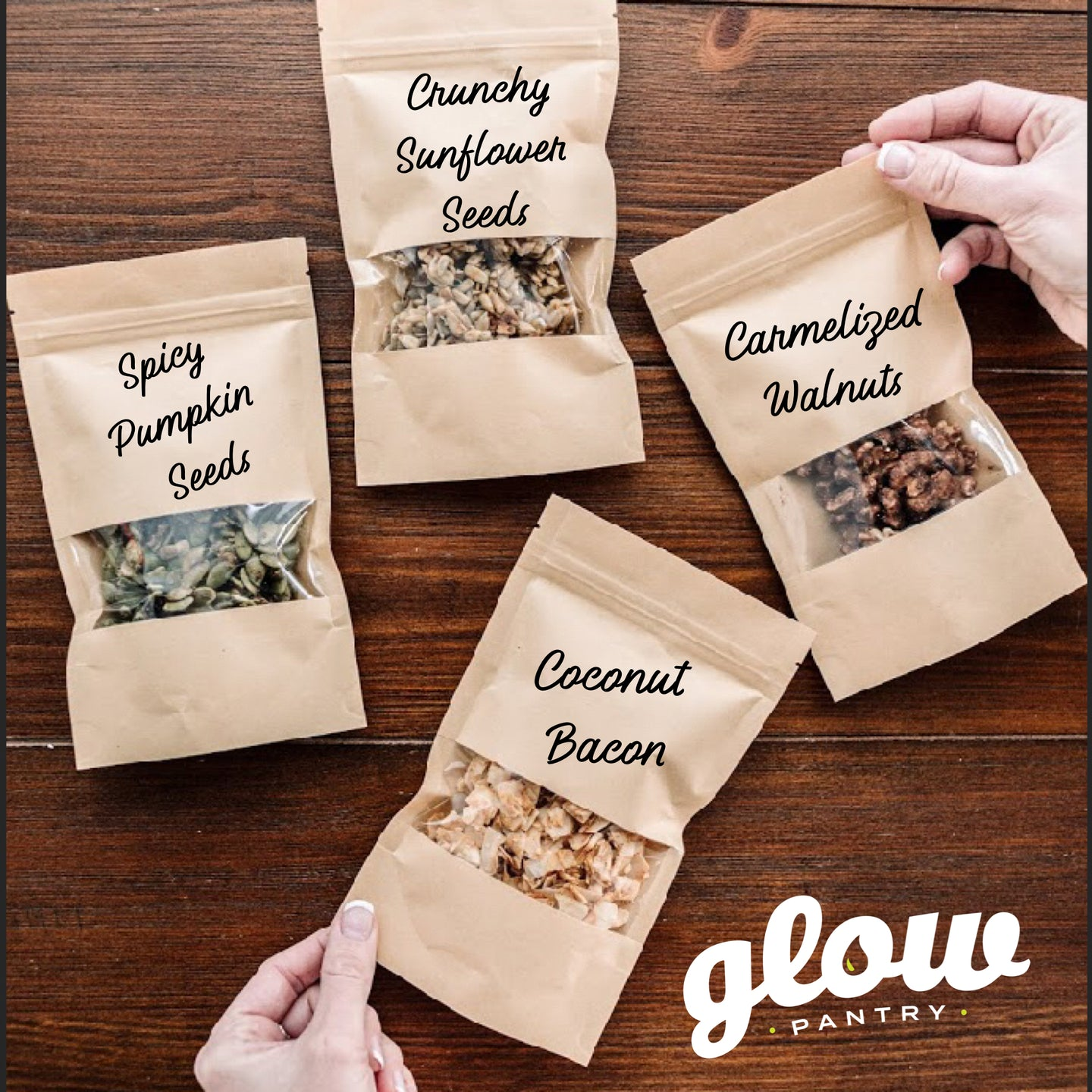 Glow Pantry ~ Organic Salad Toppers