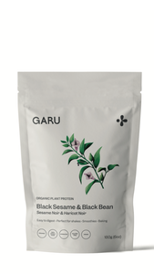 Garu ~ Black Sesame and Black Bean