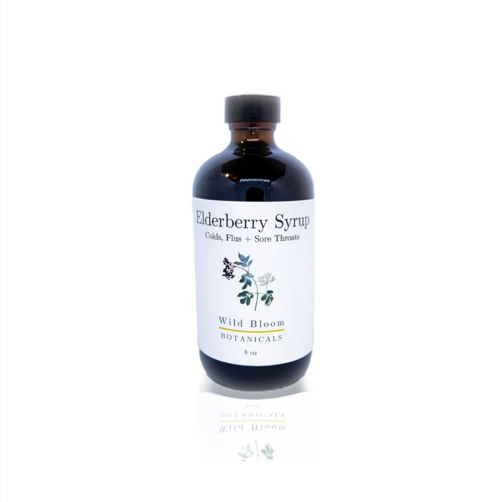Wild Bloom Botanicals ~ Elderberry Syrup