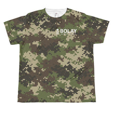 Load image into Gallery viewer, Digital Camo Army Green youth sublimation T-shirt