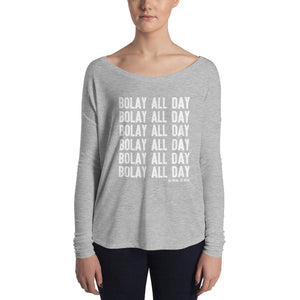 Bolay All Day Ladies' Long Sleeve Tee