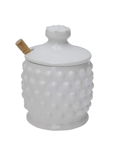 Ceramic Honey Jar w/ Dipper