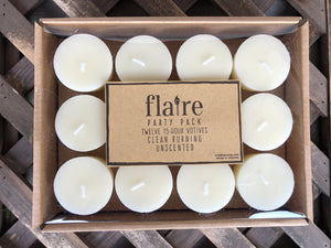 12 pack of unscented Votive Candles