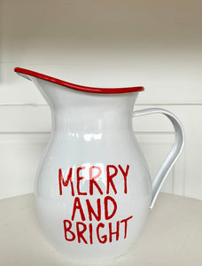 Merry & Bright Pitcher