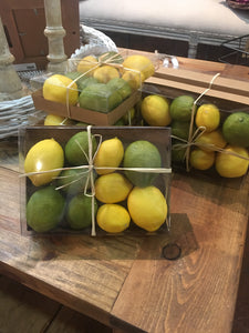 Box of mixed lemons & limes