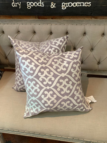 Blue & Grey Pillow Set