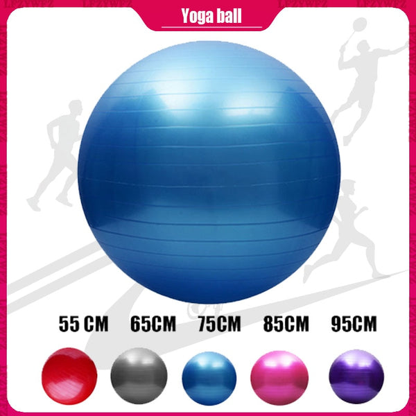 55/65/75/85/95 CM Yoga Ball Pilates Fitness Balance Ball Gymnastic Pregnant Woman Delivery Exercise Fitness Midwifery PVC Ball