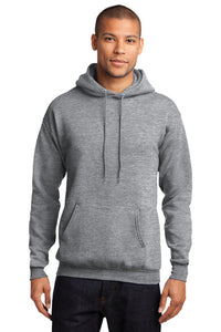 Fleece Pullover Hooded Sweatshirt / Ash Gray