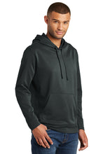 Load image into Gallery viewer, Performance Fleece Pullover Hooded Sweatshirt / Jet Black