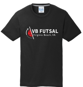 Youth Cotton T-shirt / Black / VBFutsal
