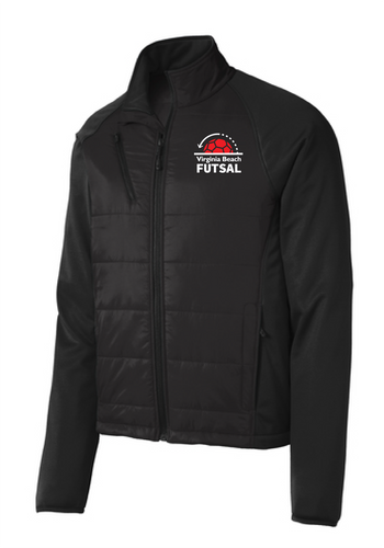 Hybrid Soft Shell Jacket /  Black / VB Futsal Staff