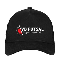 Load image into Gallery viewer, Trucker Hat / Black / VB Futsal