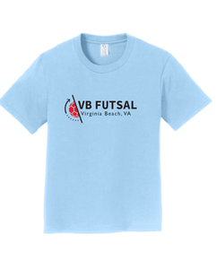 Youth Cotton T-shirt / Light Blue / VBFutsal