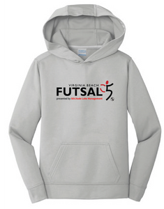 Youth Futsal 5's Youth Performance Hoody / Silver / VBFutsal