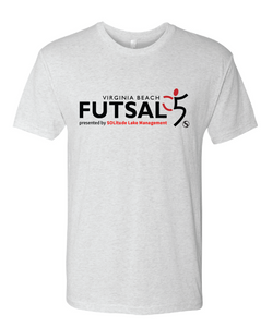 Youth Futsal 5's Cotton T-shirt / White / VBFutsal